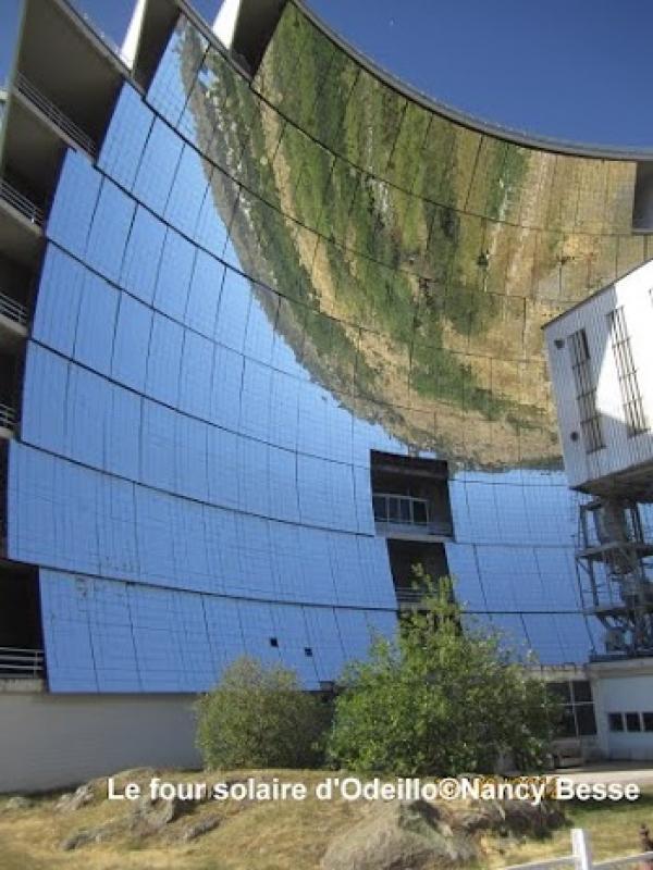 Panneaux solaires et énergie à Font Romeu