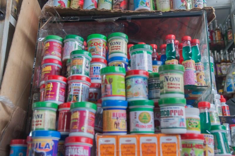 On y trouve des produits à base de plantes médecinales