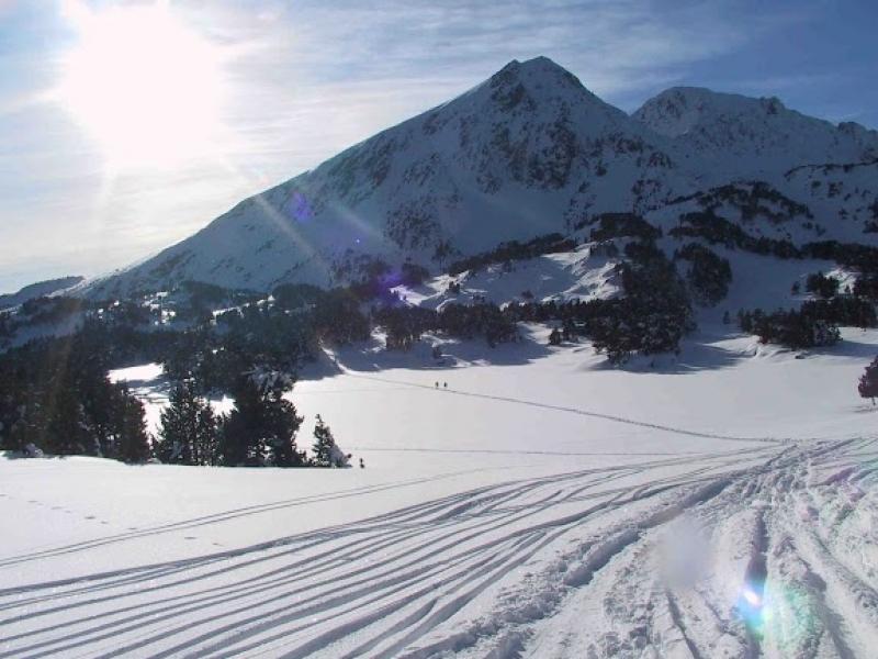 Les pistes de ski de Font Romeu