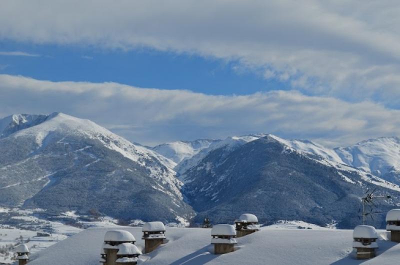 Le sommet des pistes de ski de Font Romeu
