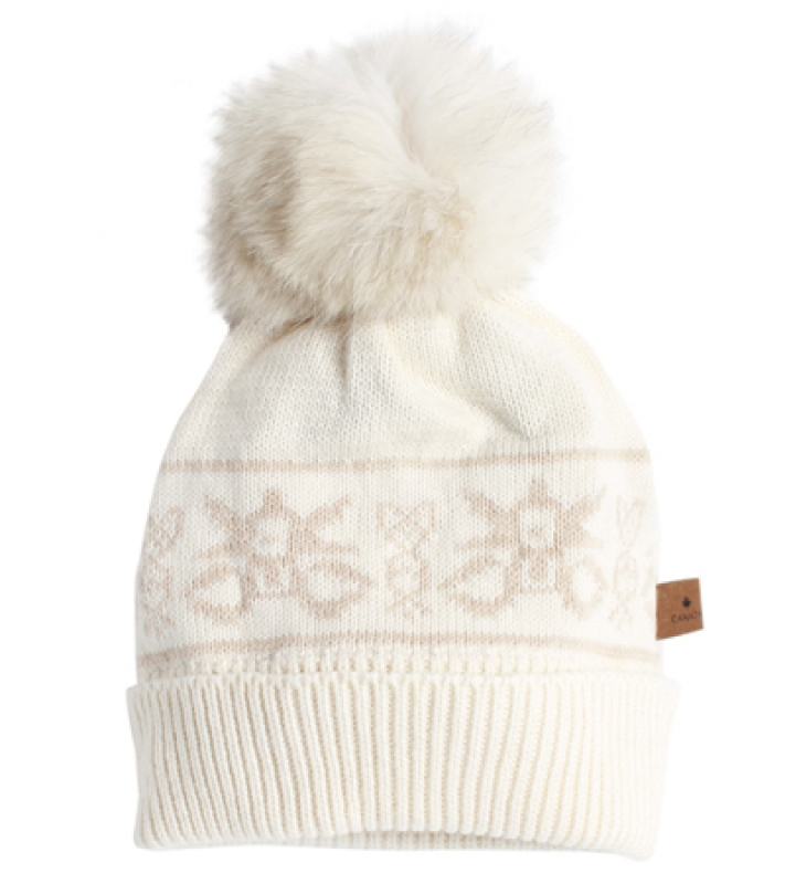 Un bonnet Mariouche Women's Kako Toque, $89, sportinglife.ca