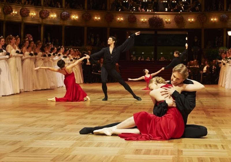 Ouvrir le bal de l'Opéra à Vienne