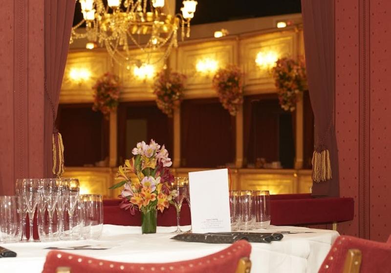 L'invitation officielle pour un bal de l'opéra à Vienne