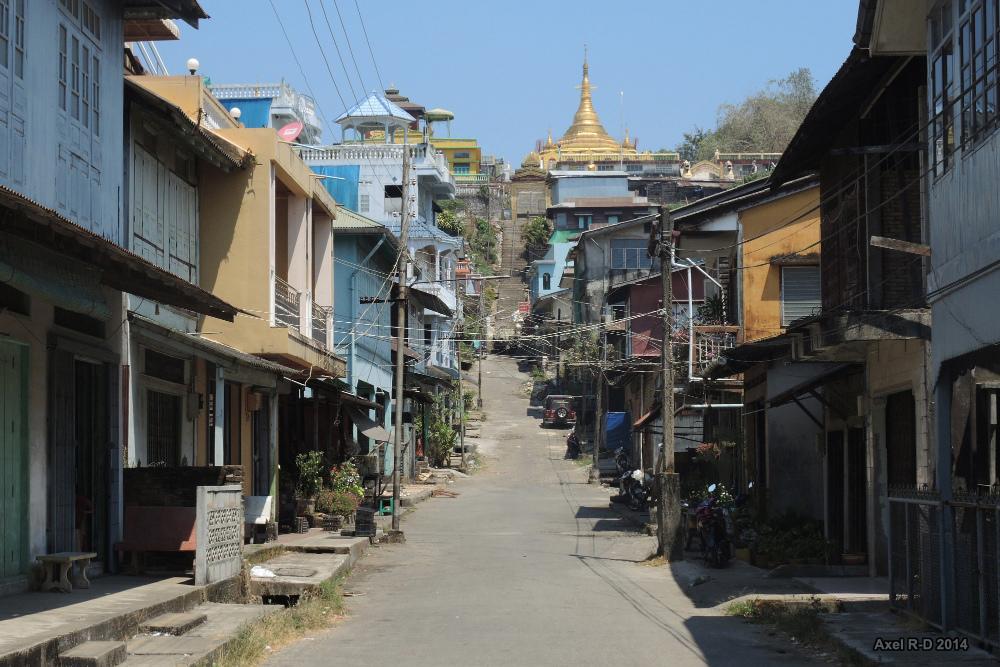 Dans les rues de Kawthaung et Yangon