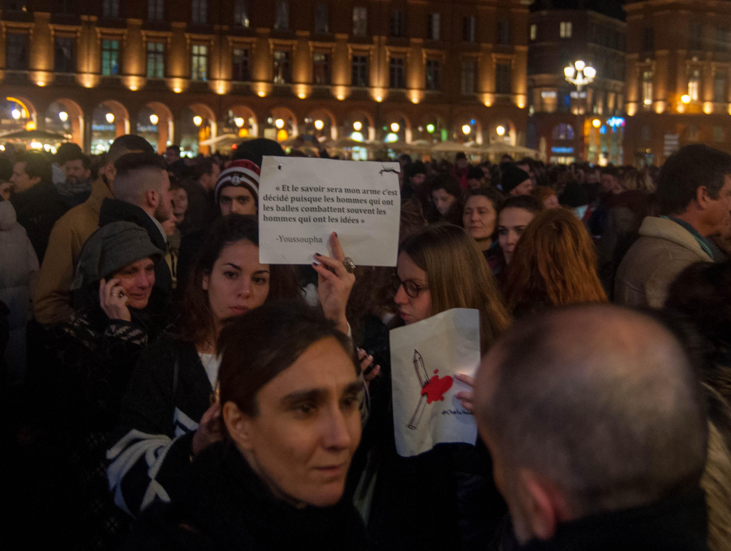 Émotions vives et palpables à Toulouse