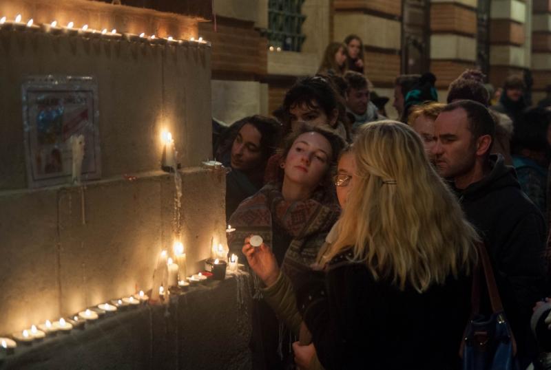 Veillées aux bougies à Toulouse