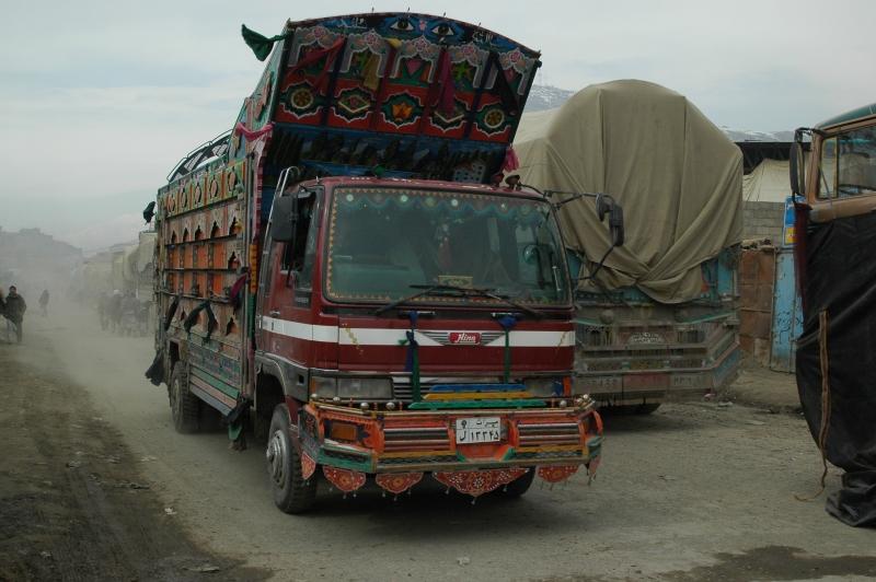Sur la route en Afghanistan