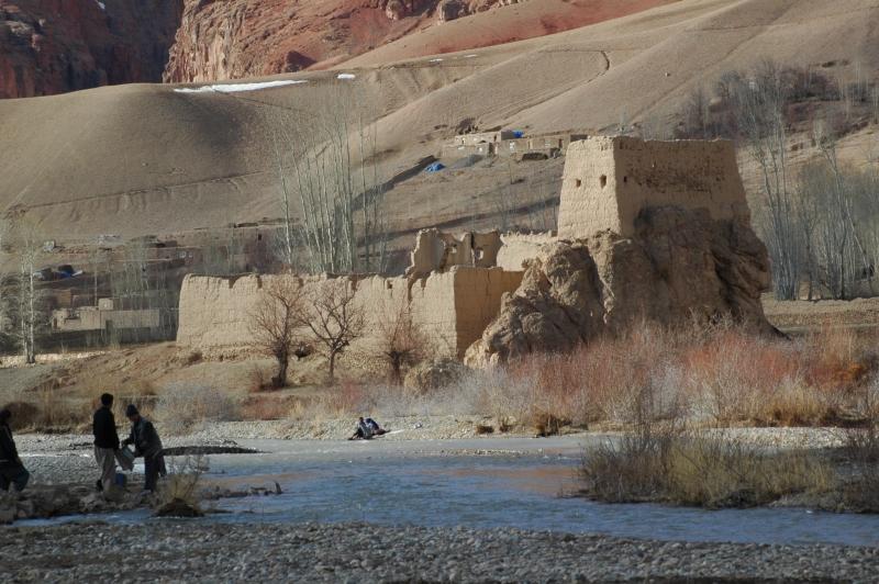 Dans les ruines de cités d'antan en zone pachtoun