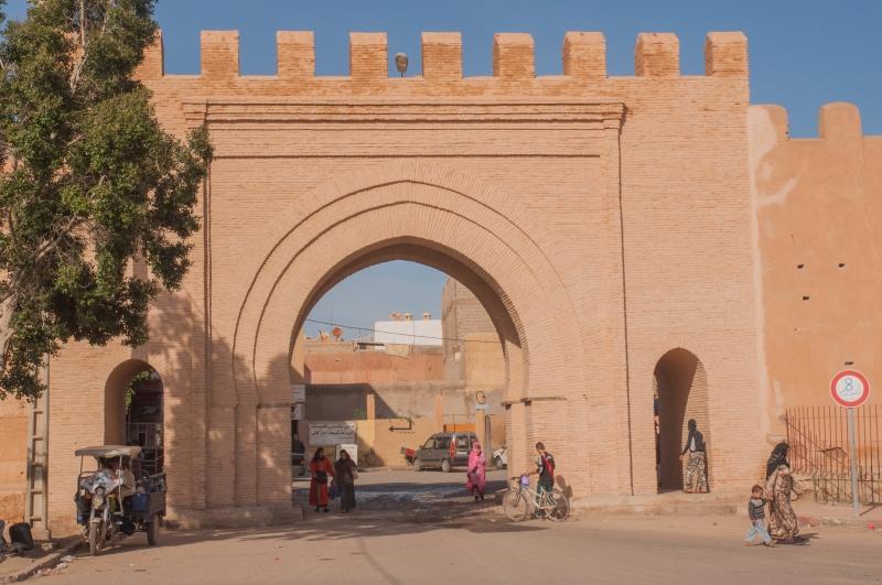 A chefchaouen au Maroc
