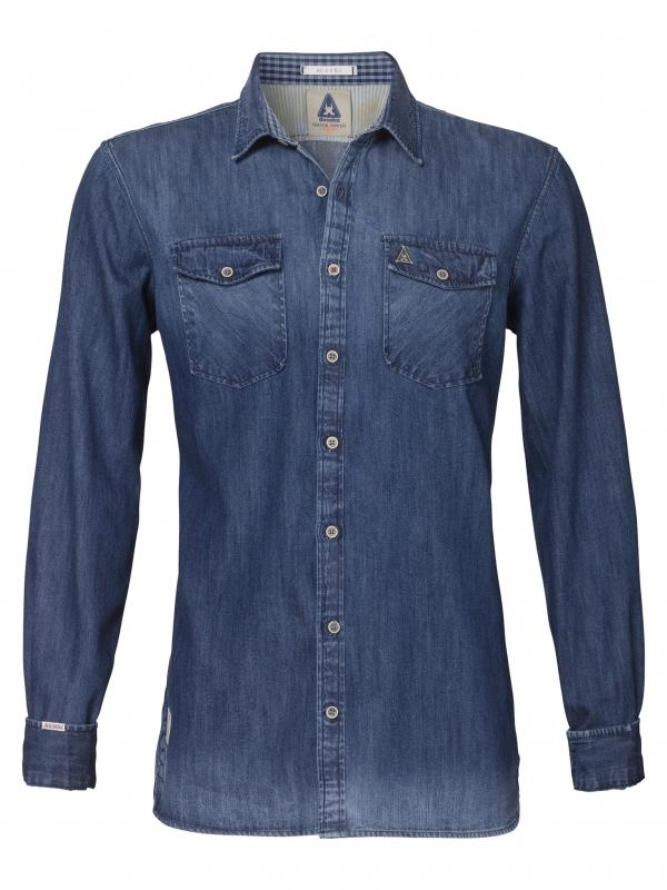 La chemise en jean brut