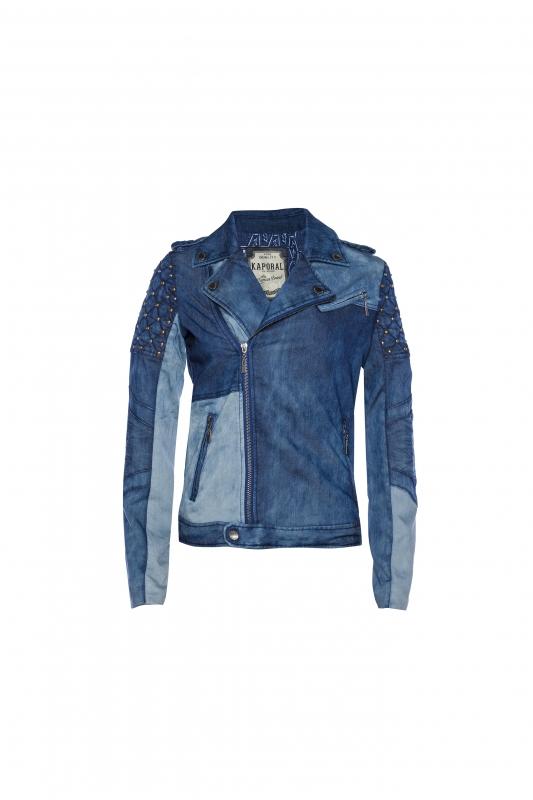 La veste cintrée en jean