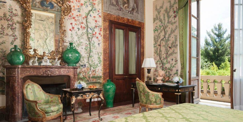 Tapisserie atypique et déco homemade à Le Four Seasons Hôtel Firenze à Florence