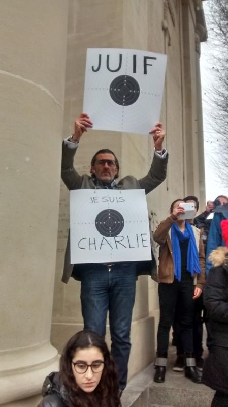 Victime ou pas, tout le monde se sentait Charlie hier à Toulouse