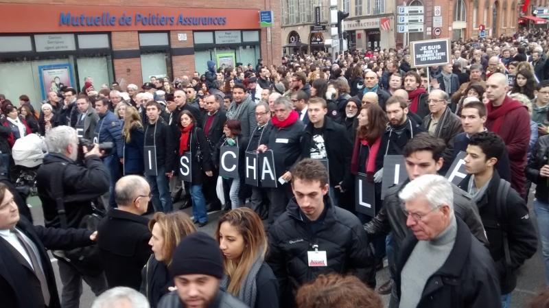 Manifestation de soutien à Toulouse