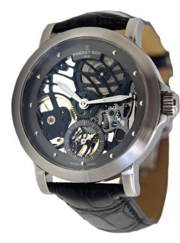 Une montre Coeur Ouvert Fréret-Roy