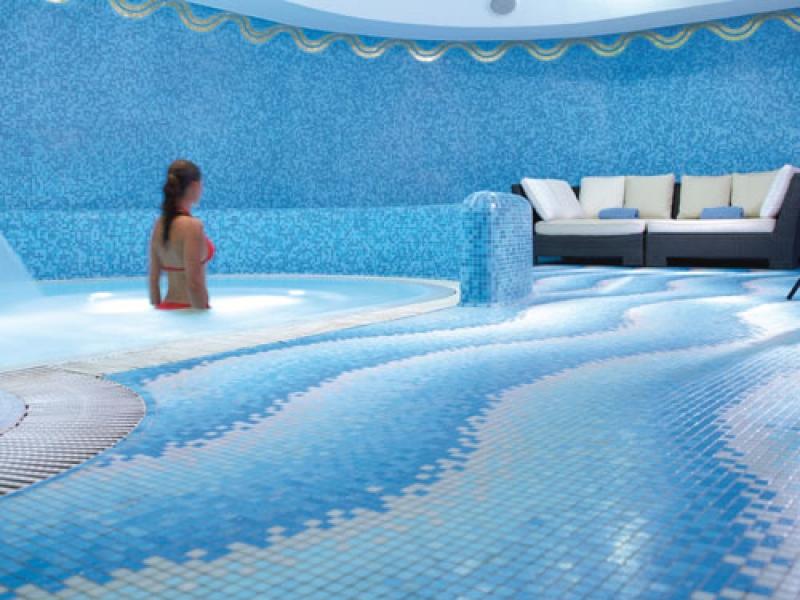 Le spa de l'hôtel de Russie à Rome