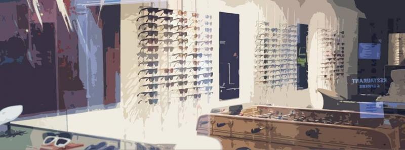 Dans la boutique de Louis le Lunetier à Toulouse