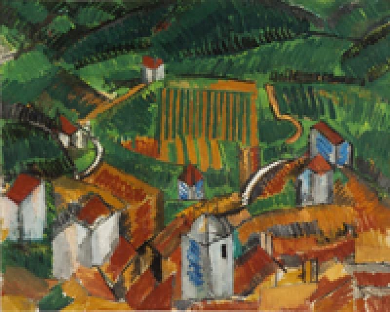 Un autre tableau de l'Exposition Raoul Dufy au musée Thyssen de Madrid