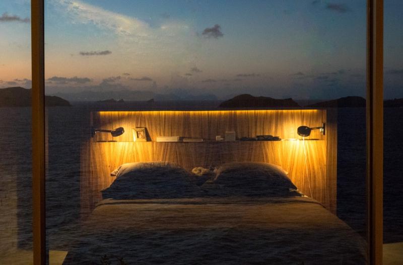 Dormir avec le son des vagues à la villa Bel Amour à Saint Barthélemy