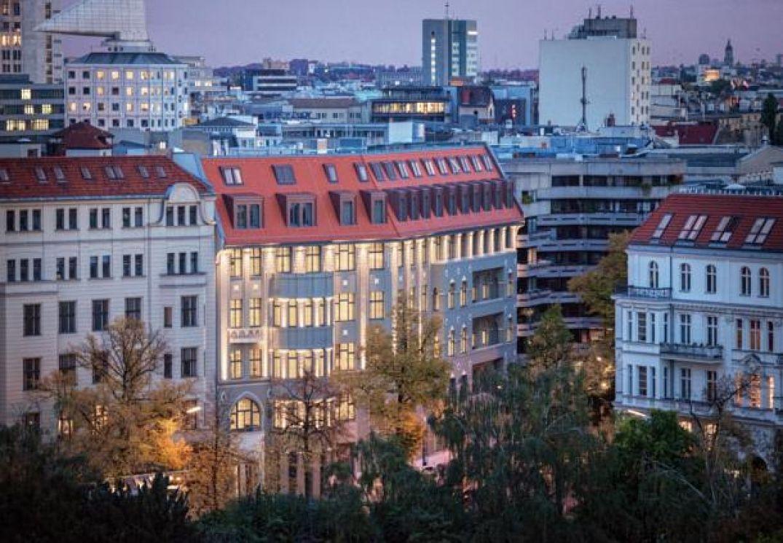 Vue depuis le Am Steinplatz hôtel à Berlin