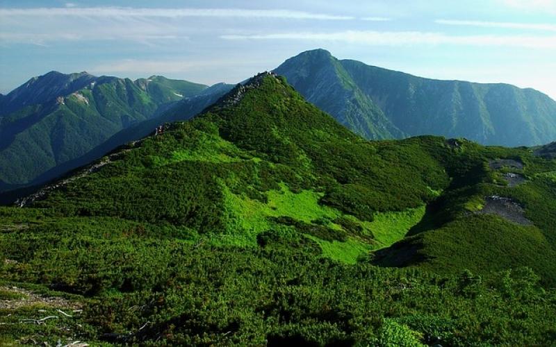 Vue magnifique sur l'île d'Hokkaido