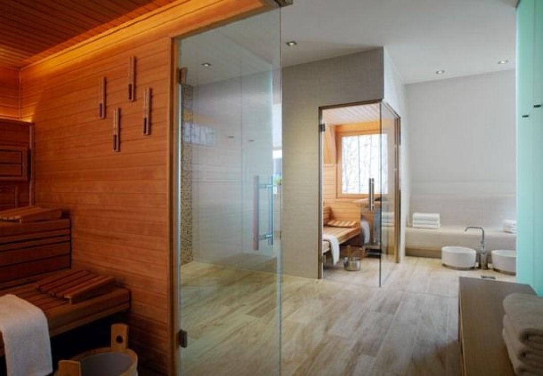 Hammam, sauna, salle de massage au spa
