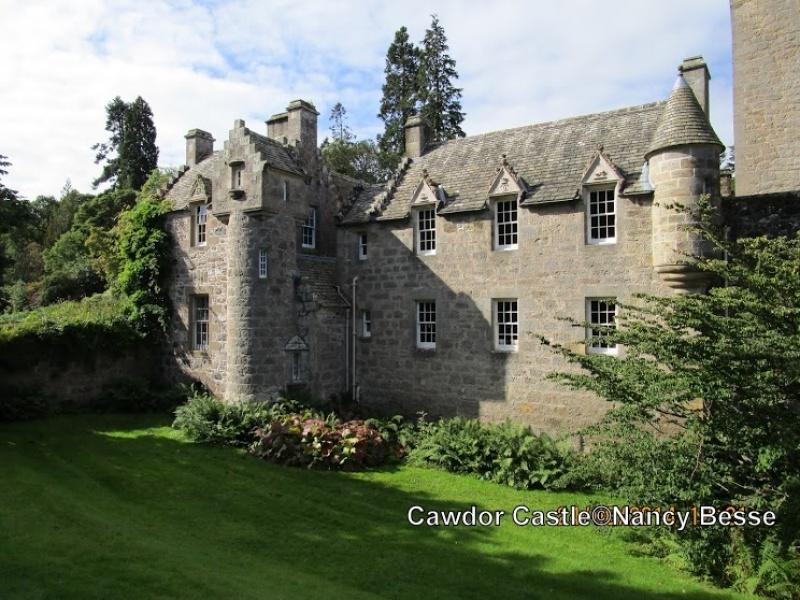 Le Cawdor Castle en Écosse