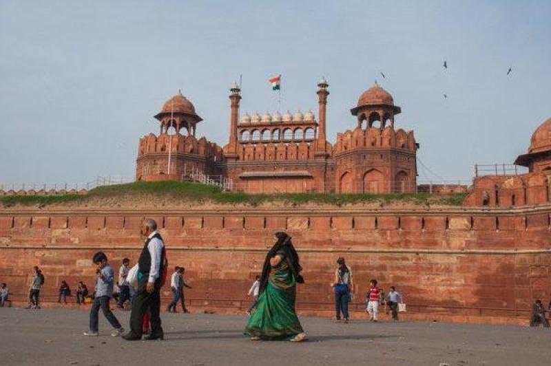 Red Fort à New Delhi