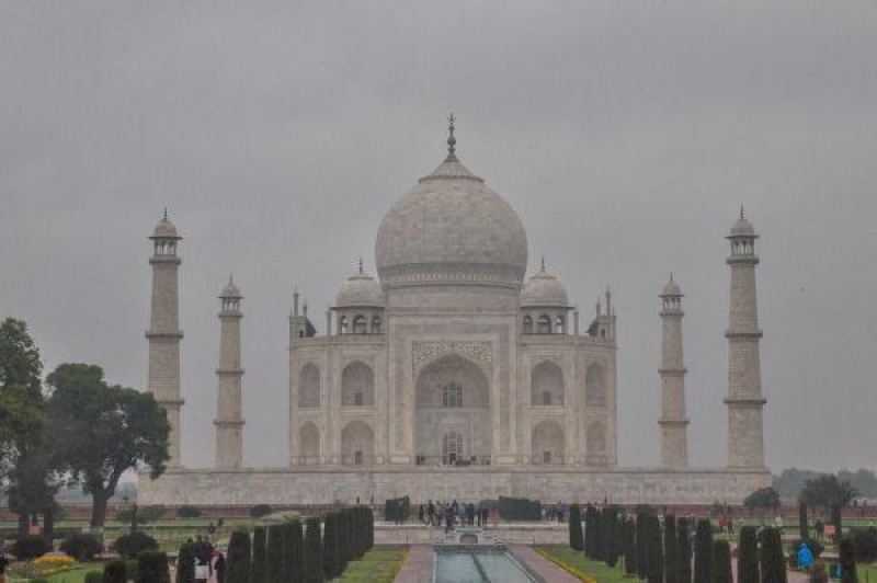 Le Taj Mahal dans toute sa splendeur Visuel : Christel Caulet