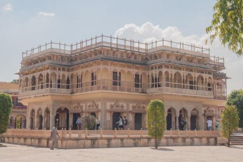Une autre cour intérieure du palais impérial
