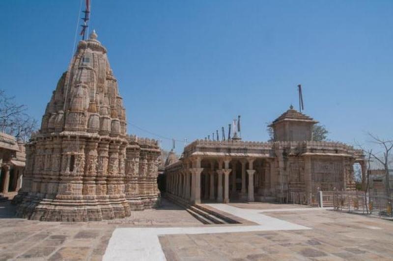 Les temples sont absolument incroyables à Chittorgarh en Inde