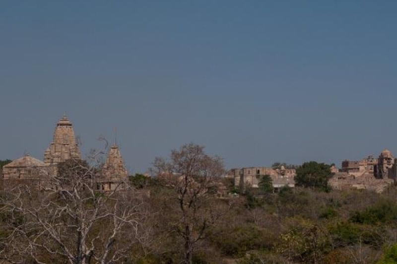 Le fort de Chittorgarh s'étale sur plusieurs kilomètres