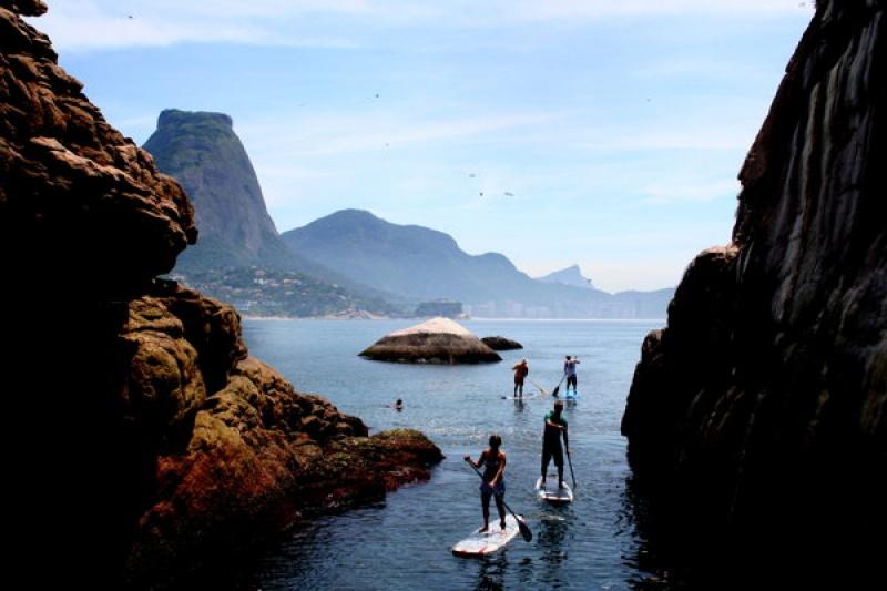 Paddle à Rio de Janeiro