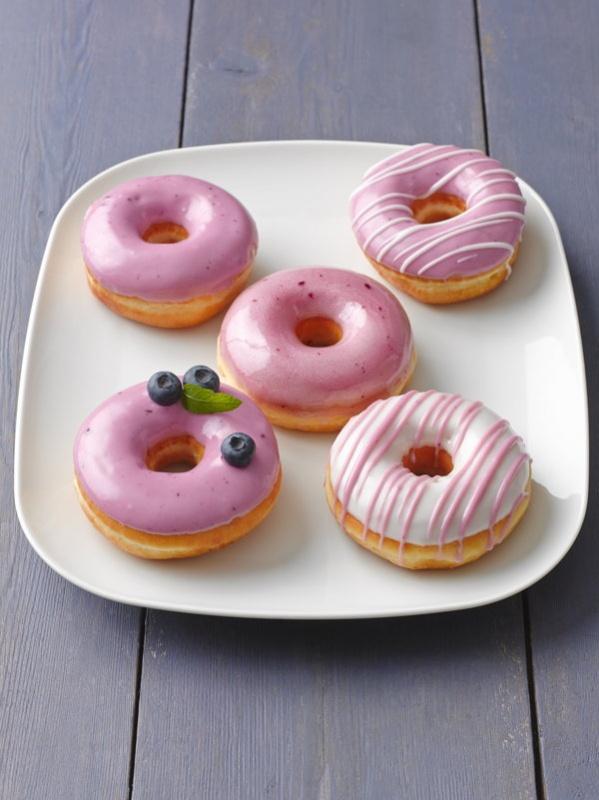 Donuts roses Copyright Dawn