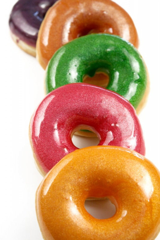 Donuts brillants copyright Dawn