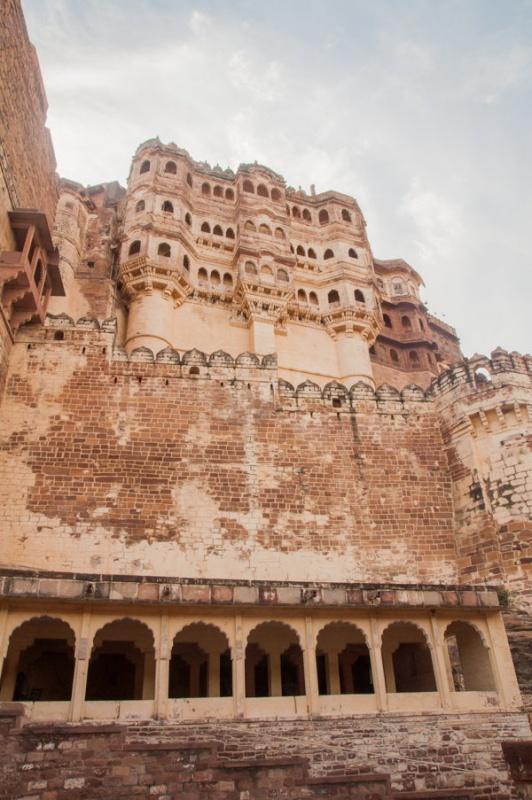 Au pied du fort de Jodhpur