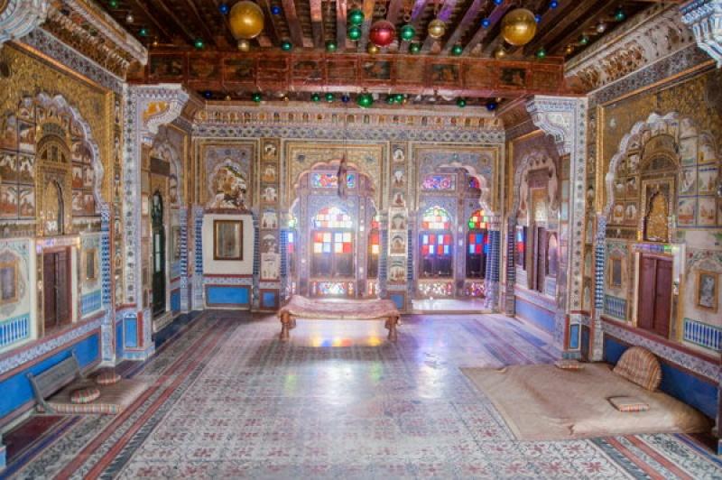 C'est sublime la finesse des détails dans le fort de Jodhpur en Inde