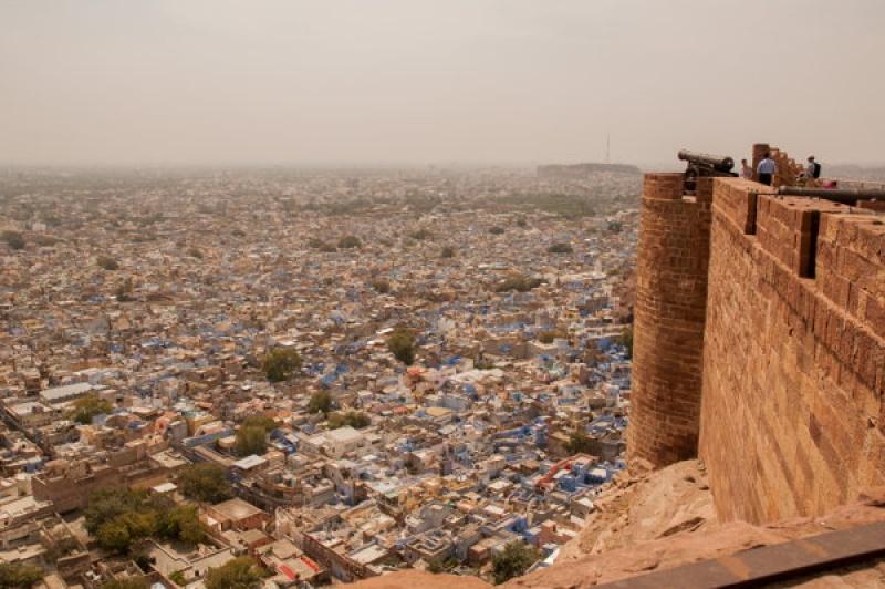 Du haut du fort de Jodhpur en Inde