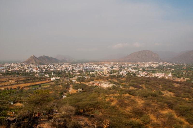 Vue sur Pushkar