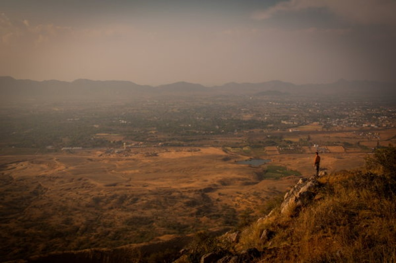 Vue panoramique - Pushkar - Inde