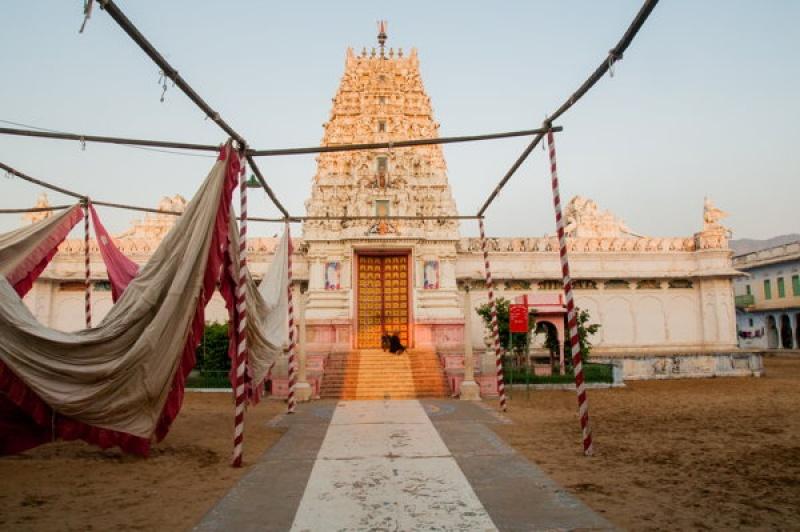 Entrer dans un temple