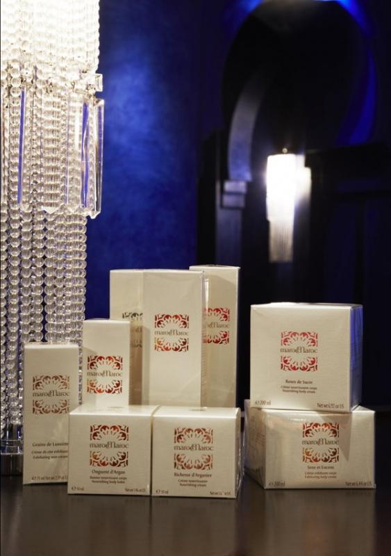 La gamme de soins cosmétiques de la Mamounia à Marrakech