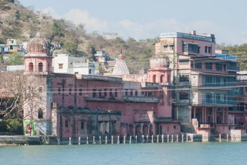 Le centre ville d'Haridwar en Inde