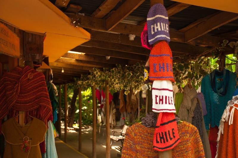 Au marché à Santiago del Chili