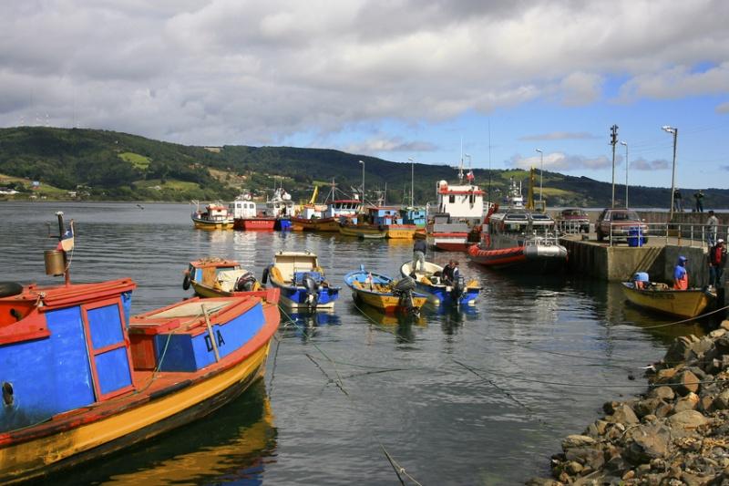 Un port avant de prendre la route