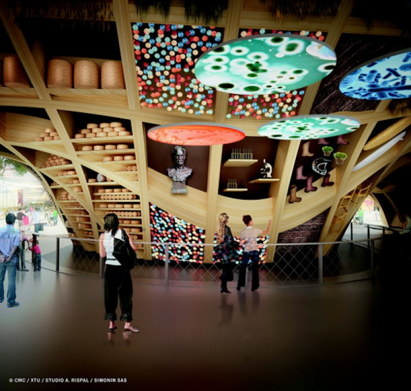 Découvrir les installation de l'exposition universelle de Milan