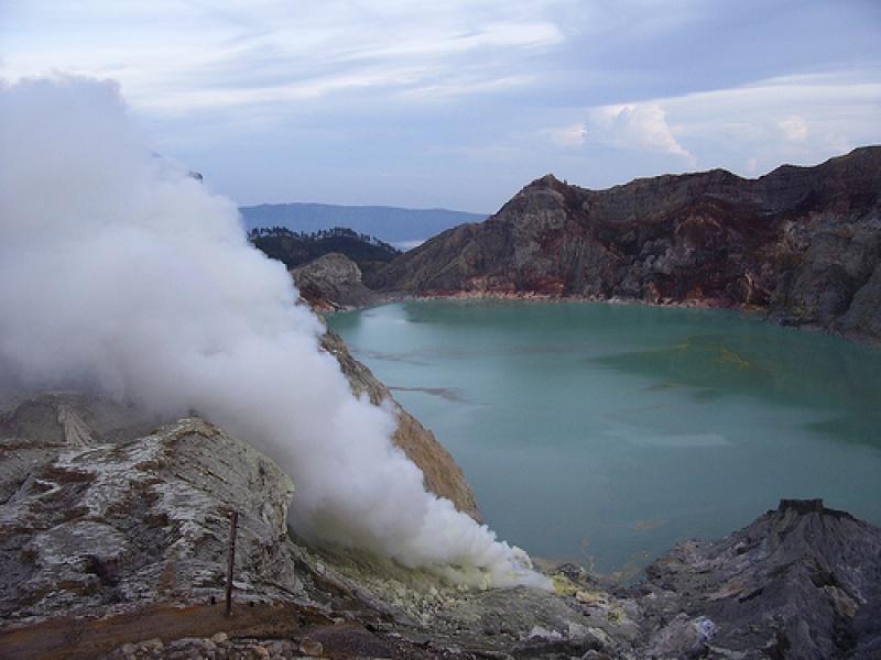 A la découverte des volcans de Bali et de Java : Mont Alung