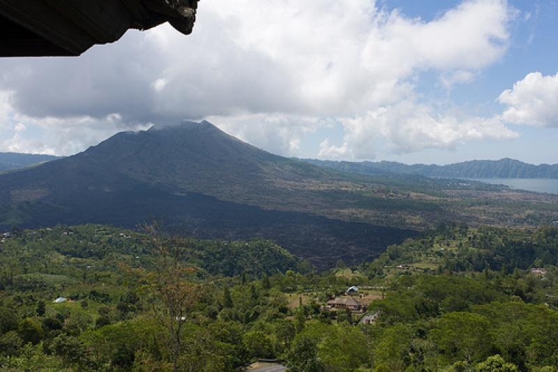 Paysages impressionnants à Bali avec le Mont Bromo