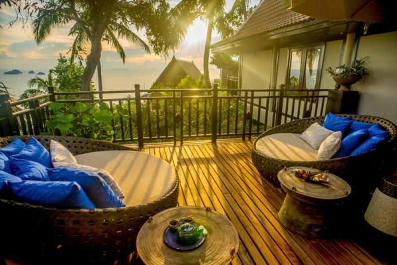 Profiter de terrasses ensoleillées en Thaïlande
