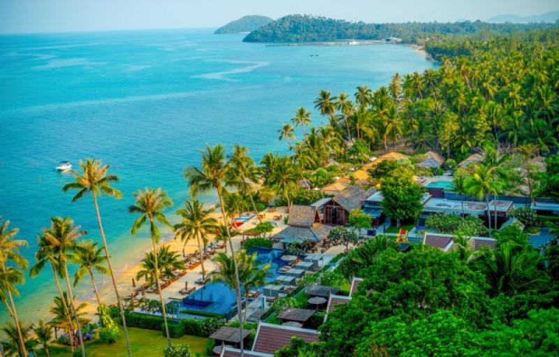 Des resorts de luxe en Thaïlande